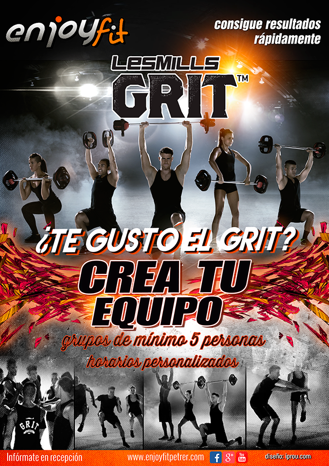 Grupos GRIT Enjoy Fit