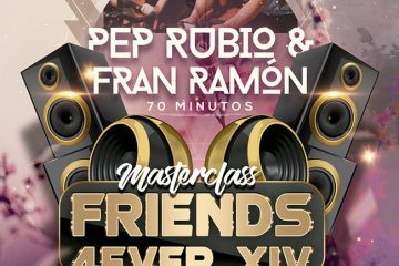 Masterclass Ciclo-Indoor Friends 4Ever con Pep Rubio & Fran Ramón!