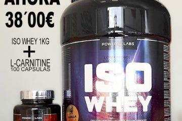 Pack Whey protein + L Carnitine Antes 50€ ahora 38€